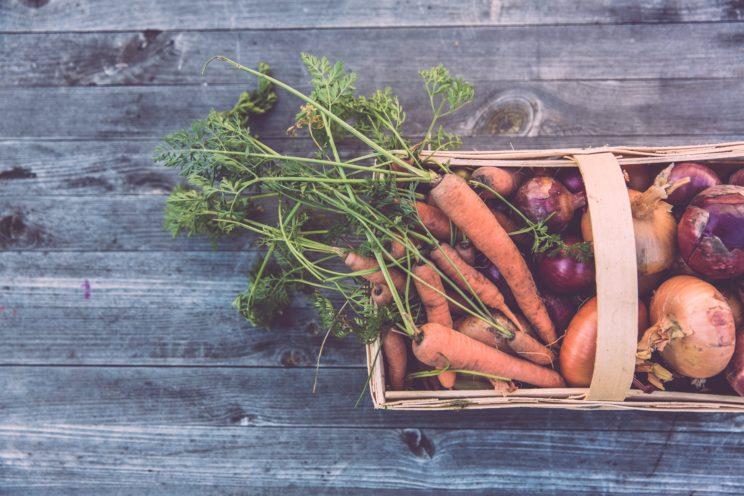 warzywa i dzieci