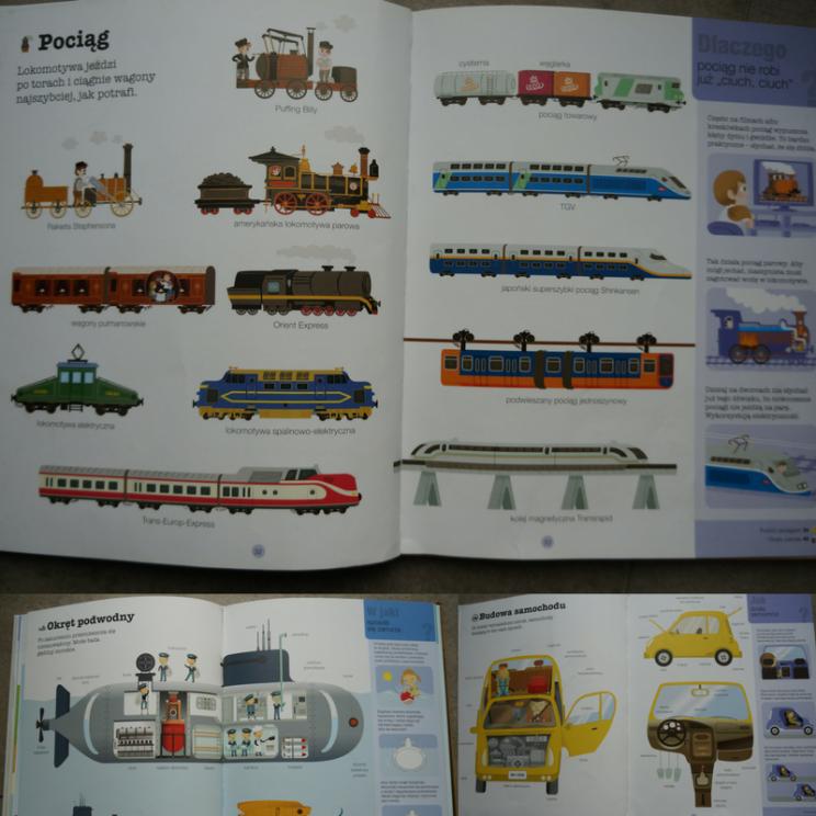 książki o pojazdach