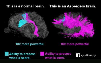 przetwarzanie informacji dziecka z Zespołem Aspergera