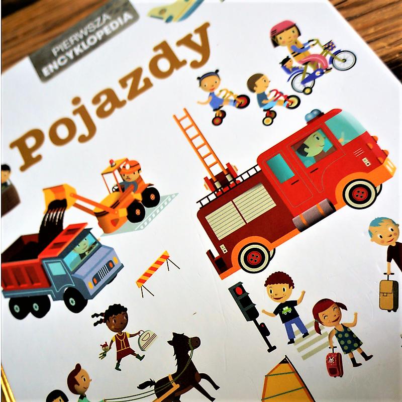 książka dla małego fana motoryzacji